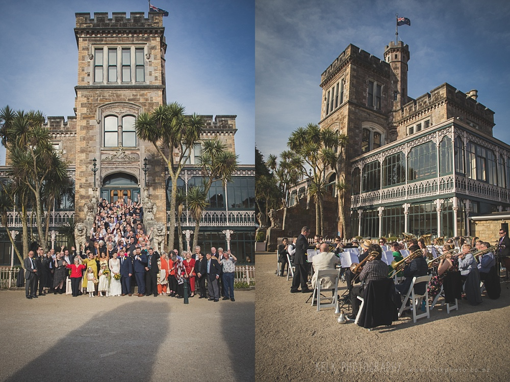 James and Rose - Larnach Castle Wedding